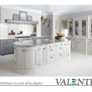 Valentino Kitchens. Designer Kitchens to suit all Budgets